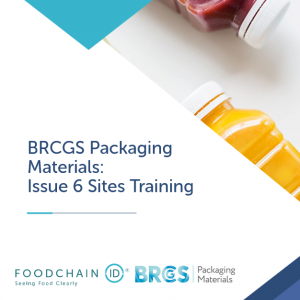 BRCGS Packaging Materials Training